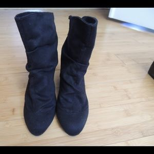 Unlisted brand black boots size 8.5